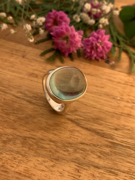 Fluorit Ring - 55,5/15,5