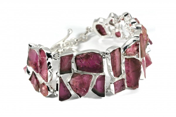 Turmalin Armband - Pink Turmalin