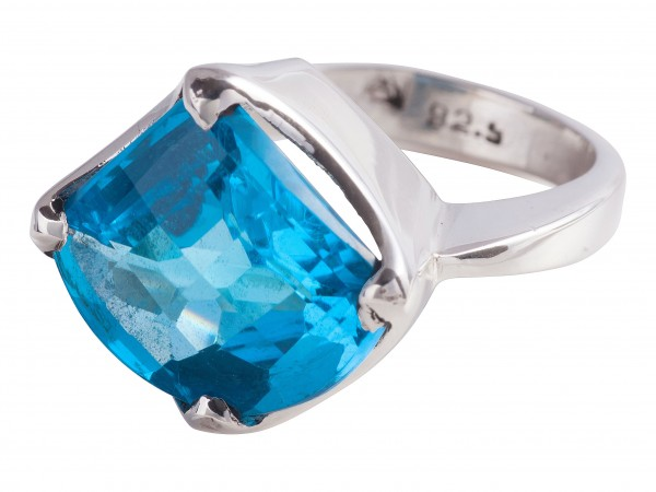 TOP Blue Topaz ring - 50