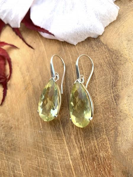 TOP Lemon Quartz Earrings