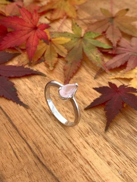 Rosenquarz Ring
