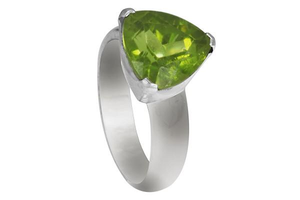 Top Peridot Ring