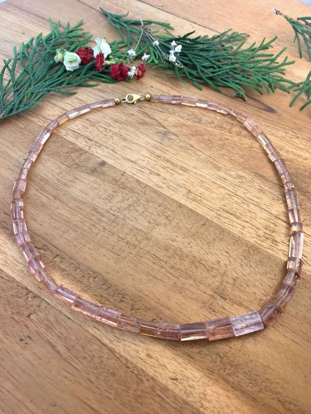 Imperial Topas Necklace