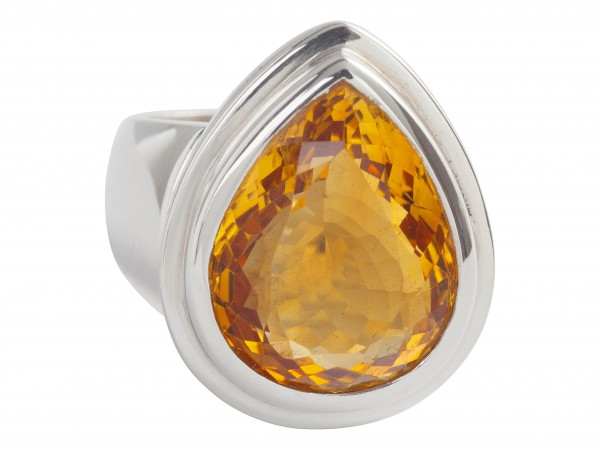 TOP Citrine ring