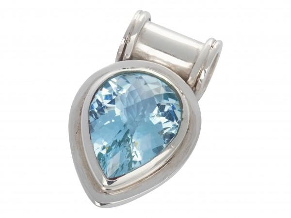 TOP Blue Topaz pendant