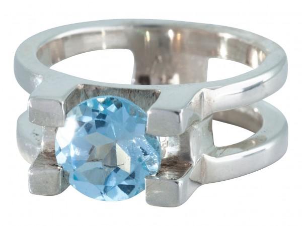 Blautopas Ring - 55/17