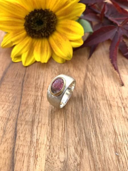 Top Pink Tourmaline Ring