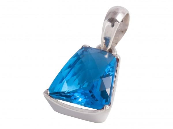 TOP Blau Topas Anhänger