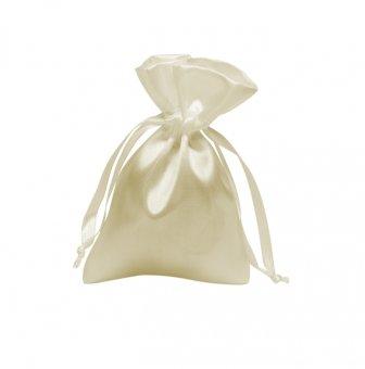 Jewelry bag creme 85x125mm