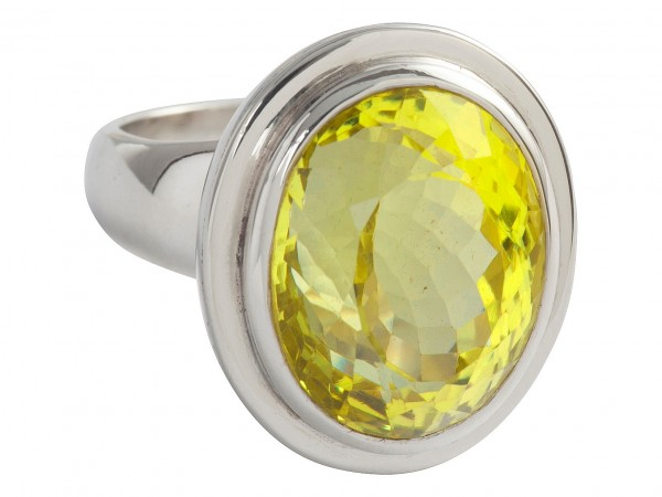 TOP Green Gold ring - 55