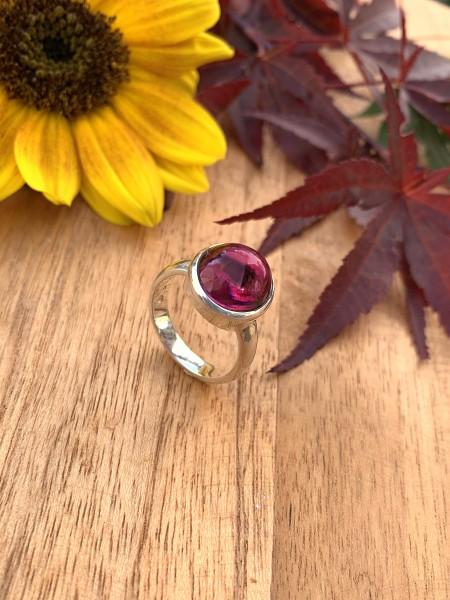 Top Pink Turmalin Ring - 54,5