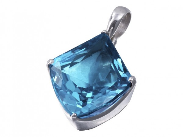 TOP Blue Topaz pendant