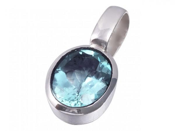 Blue Topaz pendant mini