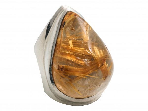 Rutilquartz Ring
