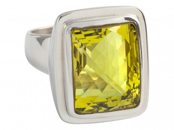 TOP Green Gold Ring - 60