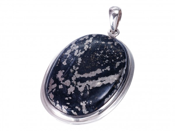 Migmatite Pyritee pendant