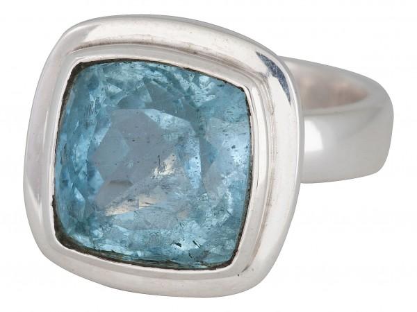 Aquamarin Ring - 59