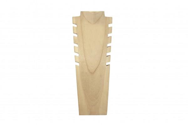 Schmuckbüste Holz - 40 cm