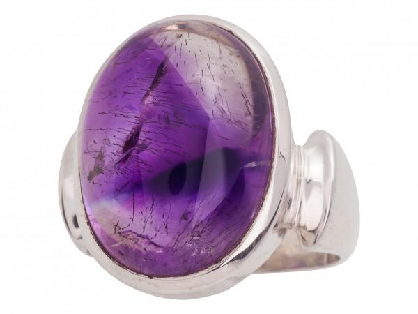 Elestial Amethyst Ring