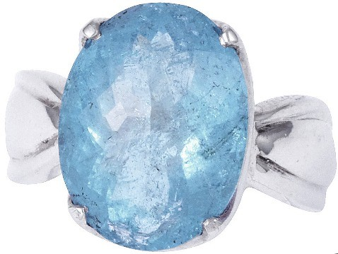 TOP Aquamarin Ring