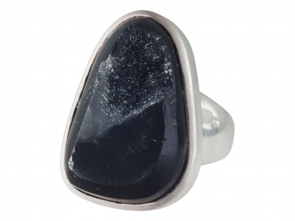 Druse Agate Ring