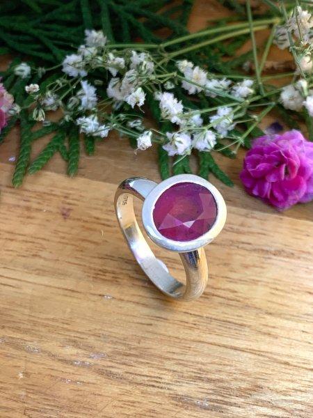 Pink Tourmaline Ring - 58/18