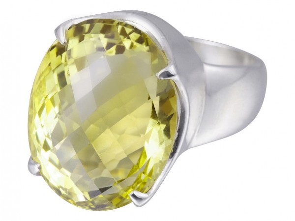 Green Gold ring - 57