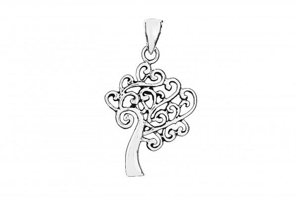 Lebensbaum Anhänger - 925 Silber