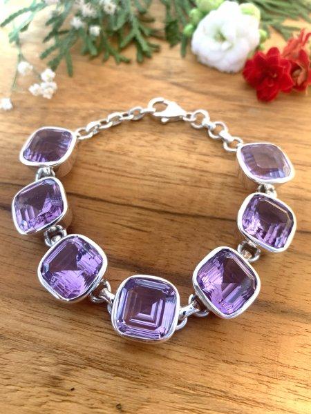 Top Amethyst Bracelet