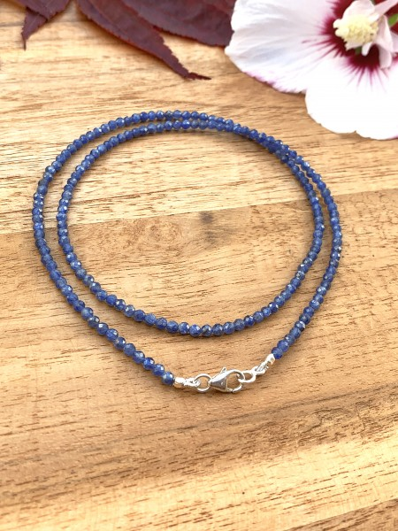 Blaue Saphir Kette