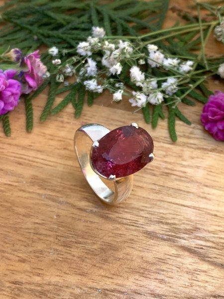 Pink Tourmaline Ring - 59/19