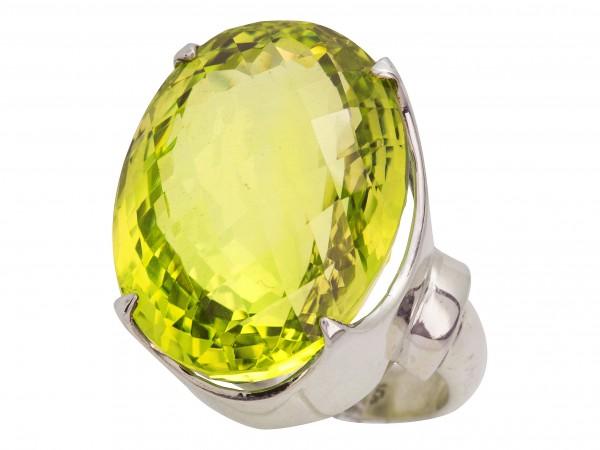 Top Lemon Quartz Ring - 56/17
