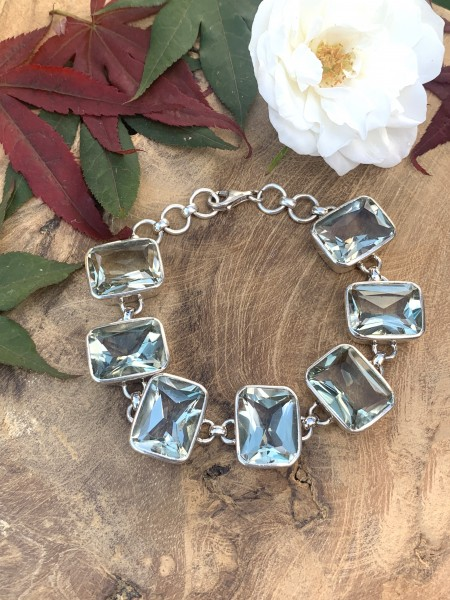 TOP Green Amethyst Bracelet