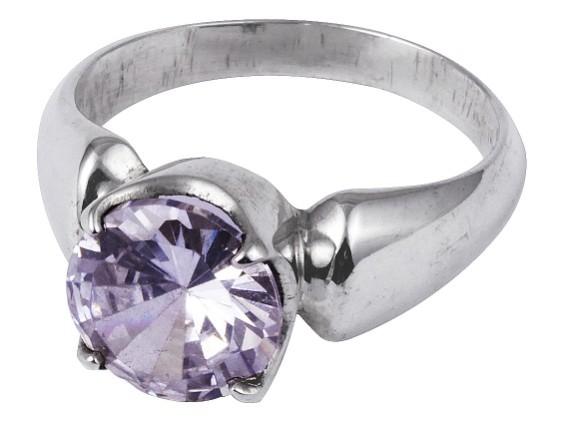 Rock Crystal ring - 51