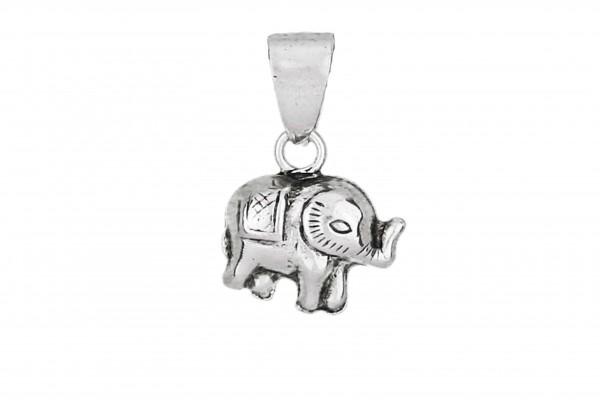 Elefanten Anhänger - 925 Silber