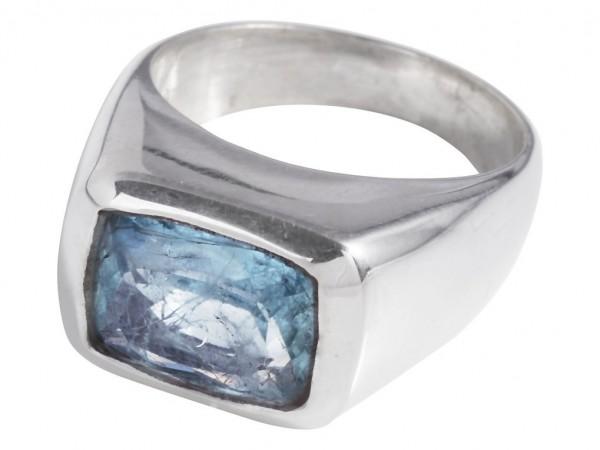 TOP Aquamarin Ring - 58