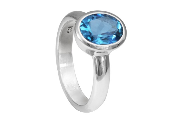 Blautopas Ring