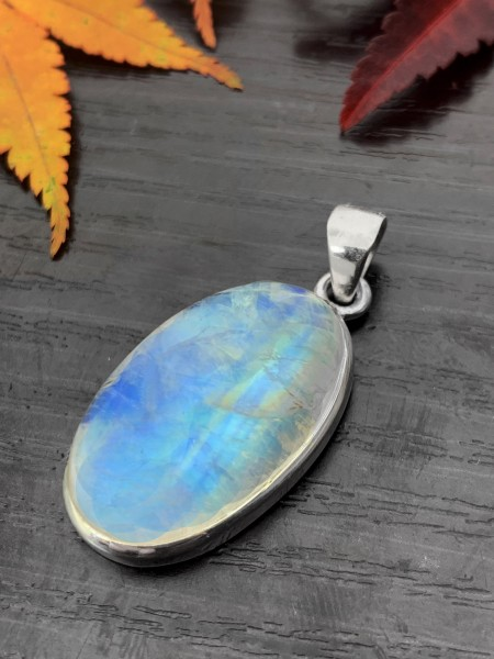 Moonstone Pendant Rainbow