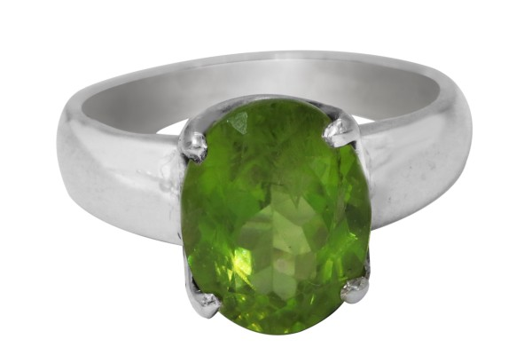 Top Peridot Ring