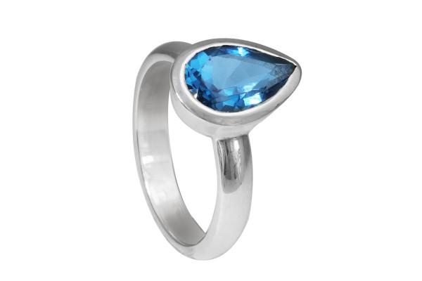 Blautopas Ring - 56