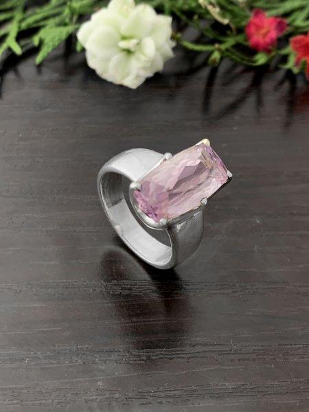 Kunzit Ring - TOP - 54