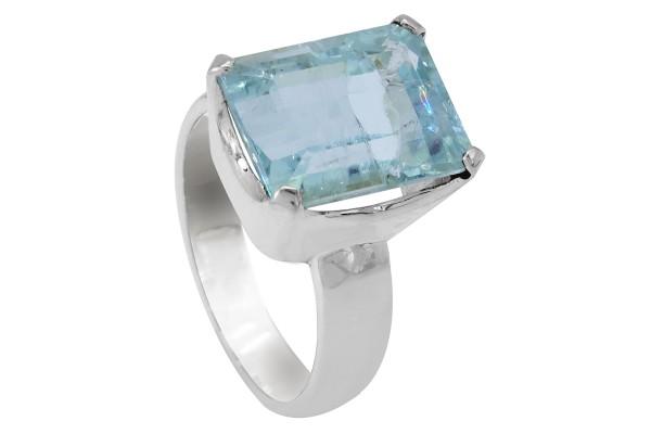 Top Aquamaring Ring