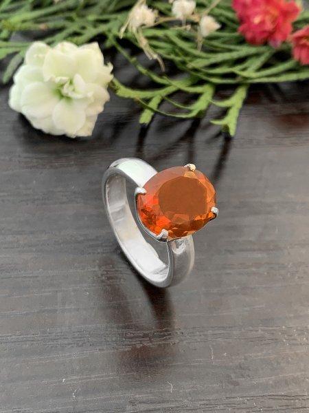 Feueropal Ring