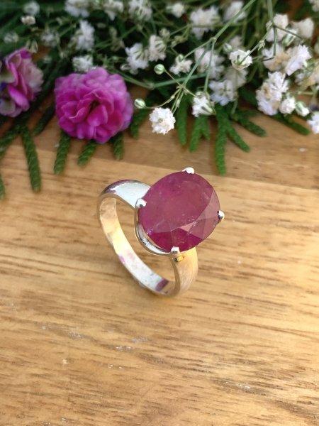 Pink Tourmaline Ring - 56/16