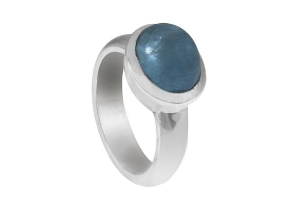 Aquamarin Ring - 54