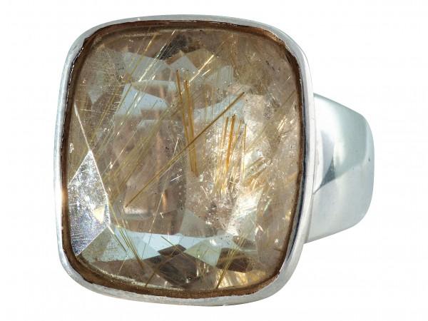 Rutilated Quartz Ring - 58/18,4
