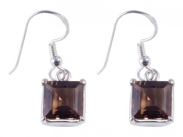 Smokey Quartz earrings