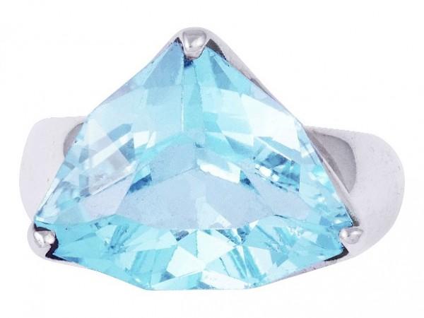 Blau Topas Ring