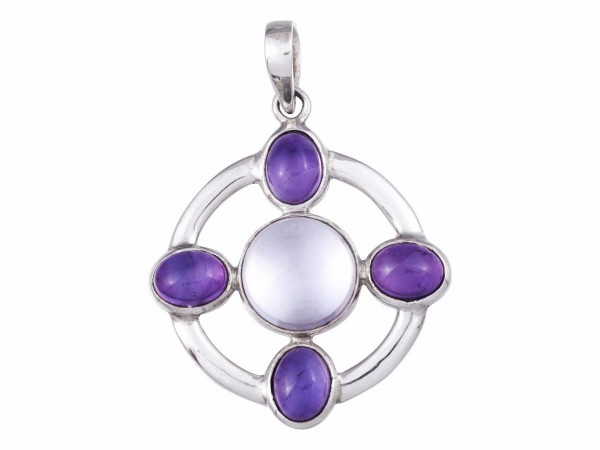 Amethyst - Kristall pendant